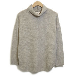 NEW Como Vintage Ribbed Knit Mock Neck Sweater